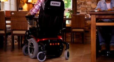 電動輪椅的三個關鍵尺寸:車寬、迴轉半徑、座高