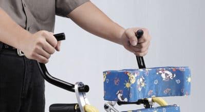 手動輪椅的好評配件:推把加高