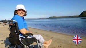 輪椅是我們旅行時,最重要的旅伴!